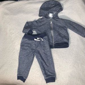 Carters Zip-Up Hoodie & Pull-On Joggers